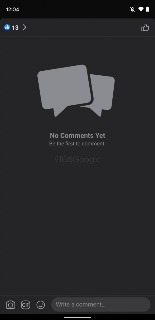 Facebook Android app novidades Dark Mode