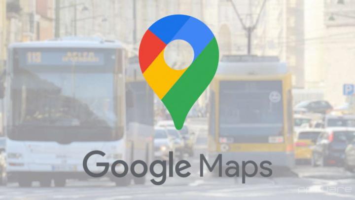 Google Maps transportes públicos viagens