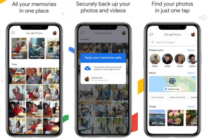 Google Photos photos news videos