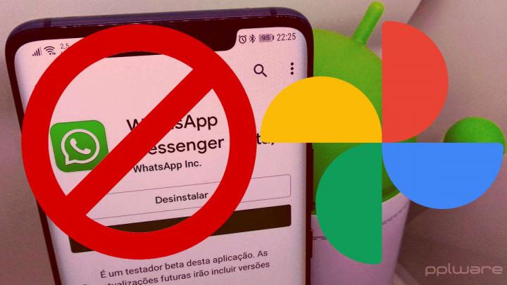 Google Photos cópias segurança apps mensagens