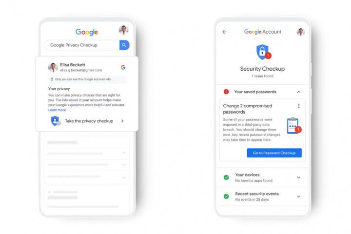 Google dados utilizadores informação contas