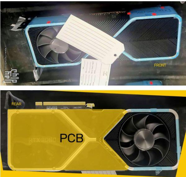 Surgem na internet supostas fotos da nova GPU 3080 da Nvidia