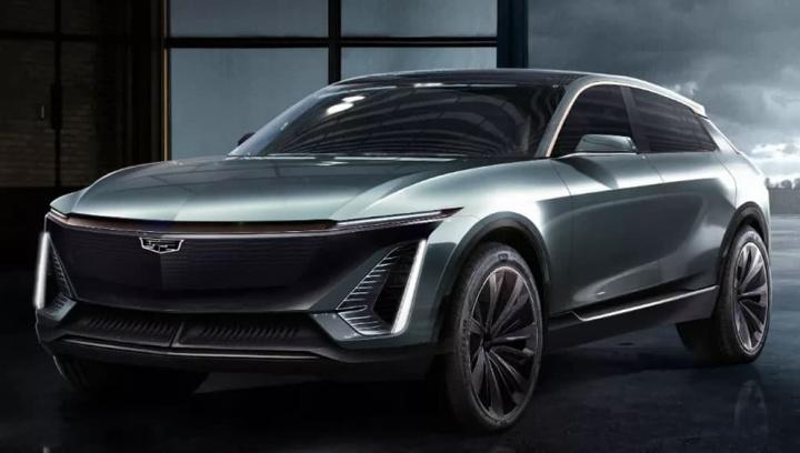 Imagem de uma proposta da General Motors para o segmento dos carros elétricos