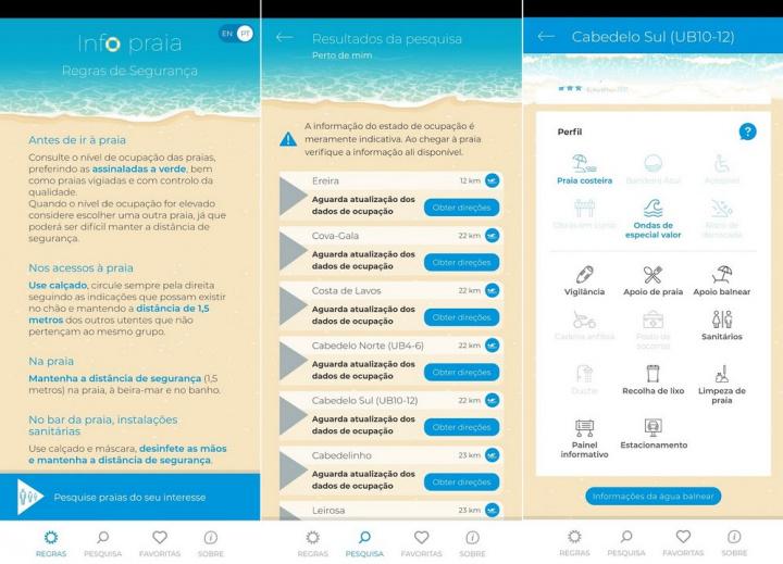 Antes de ir para a praia consulte estas apps [Android/iOS]