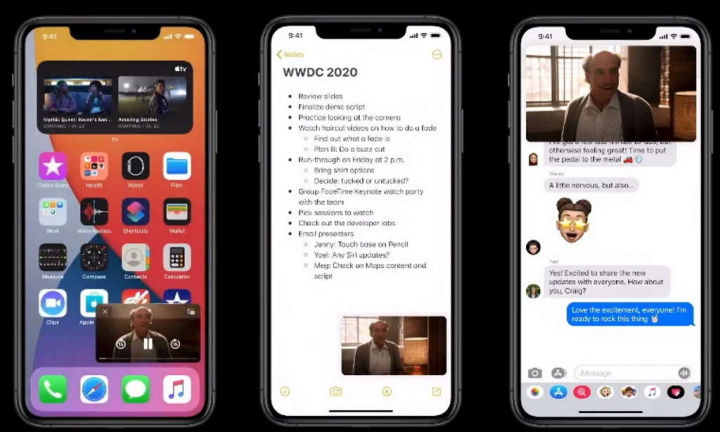 iOS 14 Apple Android Google novidades
