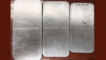 Imagem dos moldes para o iPhone 12