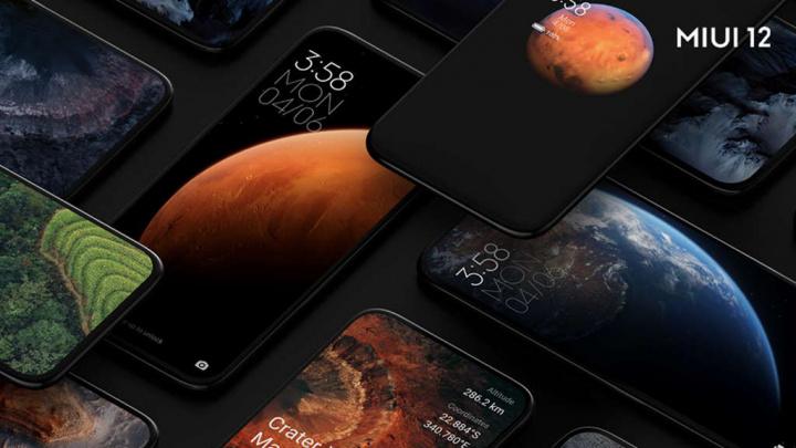Xiaomi MIUI 12 smartphones equipamentos versão
