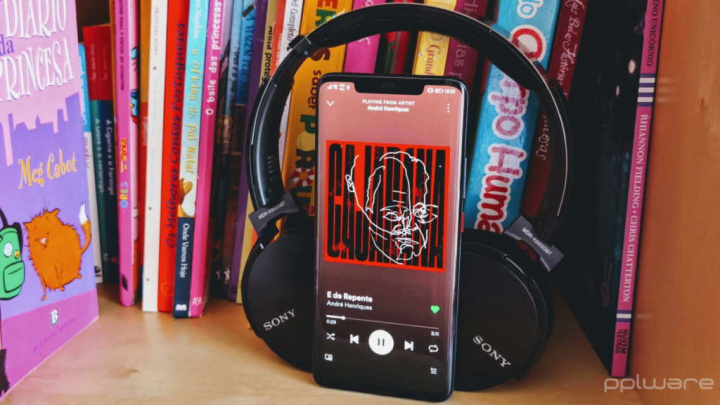 Spotify MP3 Android música streaming