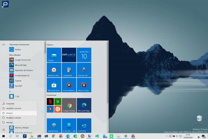 Windows 10 reiniciar desligar atualizações Microsoft