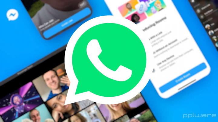 WhatsApp Web Messenger Rooms videoconferência