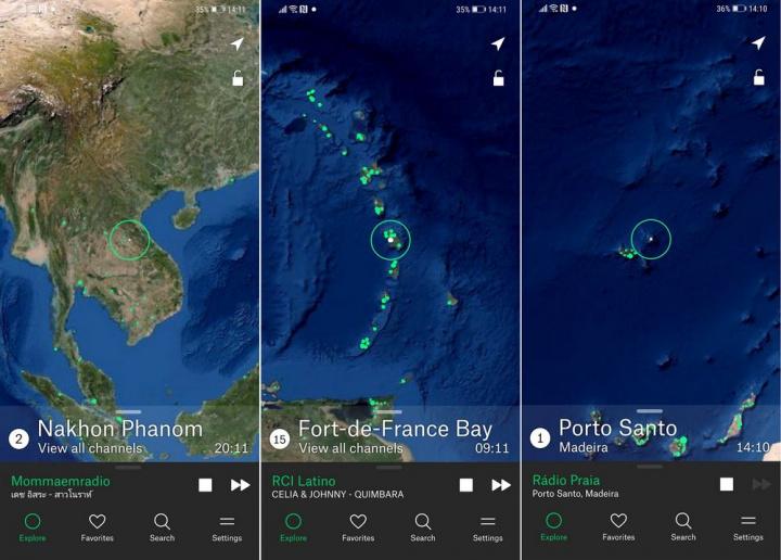 Radio Garden - 5 apps Android para passar melhor o tempo dentro de casa