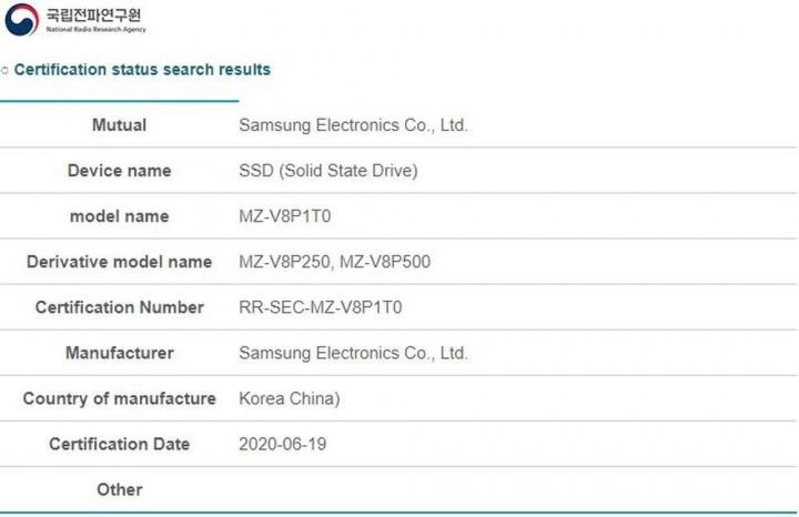 PS5: SSD Samsung 980 Pro aparece em certificação da NRRA