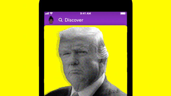 Snapchat vai deixar de promover mensagens de Donald Trump