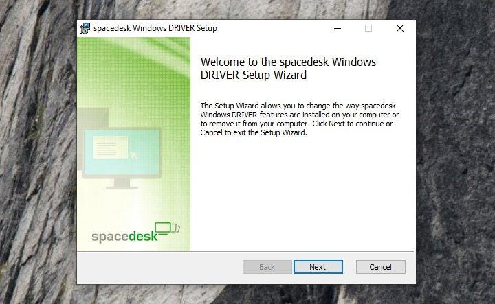 Spacedesk - para expandir o ecrã do seu computador
