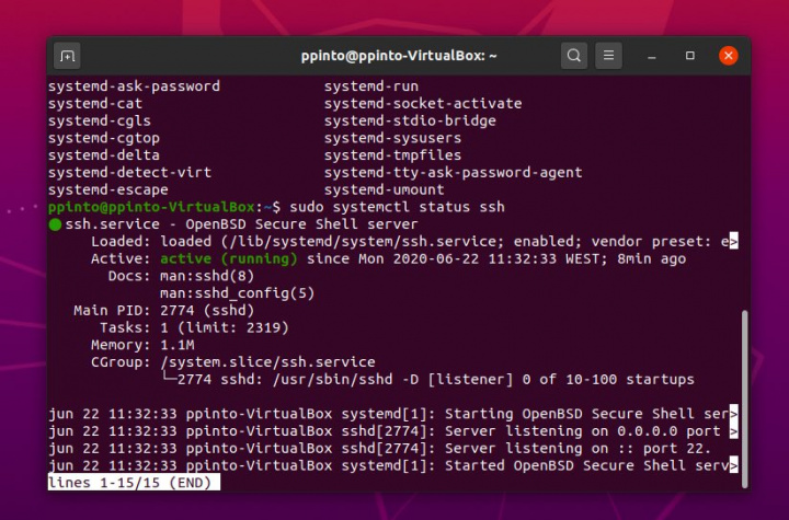 Ubuntu 20.04 installed? Learn how to install and configure SSH