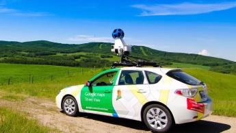 Imagem Carro da Google Maps para Street View