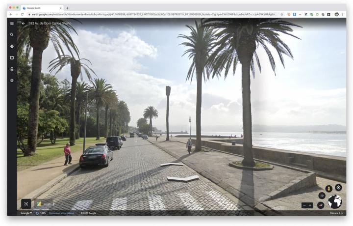 Imagem do Porto em Street View da Google