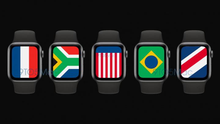 Imagem ilustração novos mostradores watchOS 7 para Apple Watch