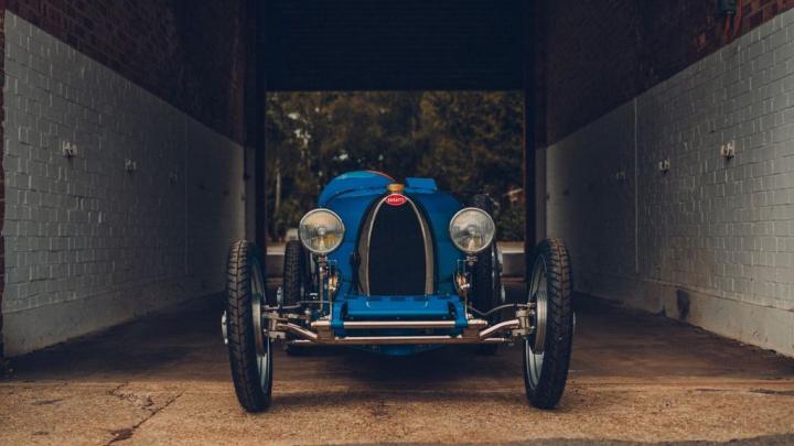 Baby II - o primeiro carro elétrico da Bugatti por menos de 30 mil euros