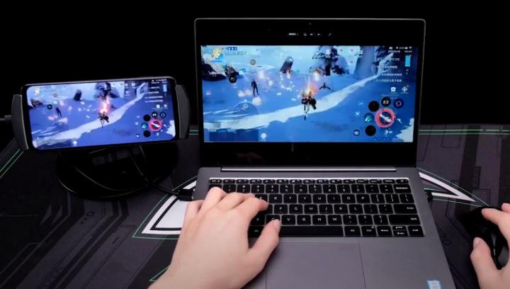 Jogos do Black Shark 3S com JOYUI 12 poderão ser espelhados no PC