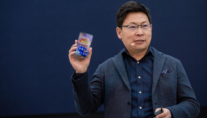 Imagem CEO da Huawei para a divisão mobile