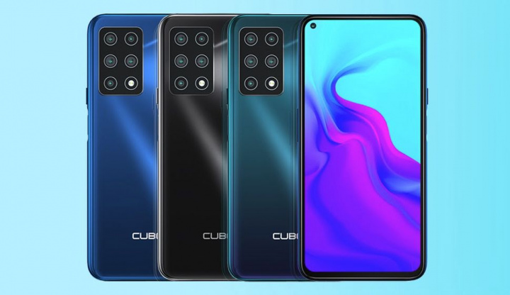 Cubot X30 - A new smartphone with 5 cameras at the rear