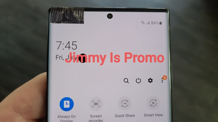 Leak shows the Samsung Galaxy Note 20 Ultra on video