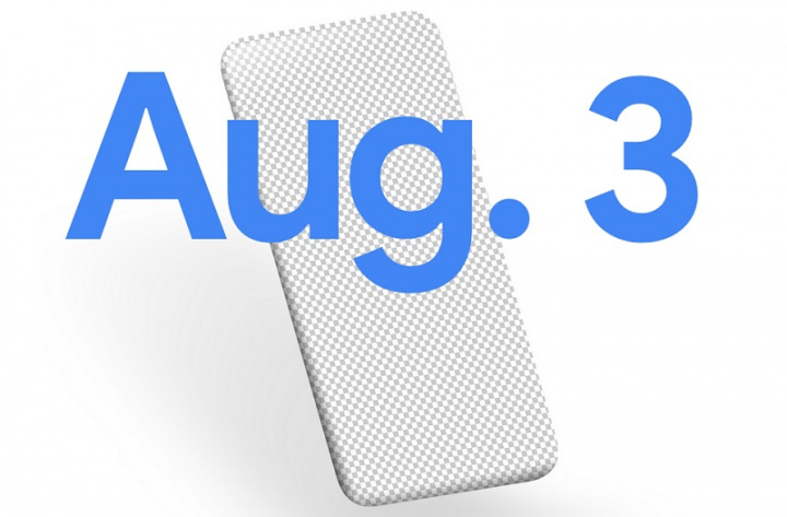 It's official!  Google will launch a new smartphone on August 3