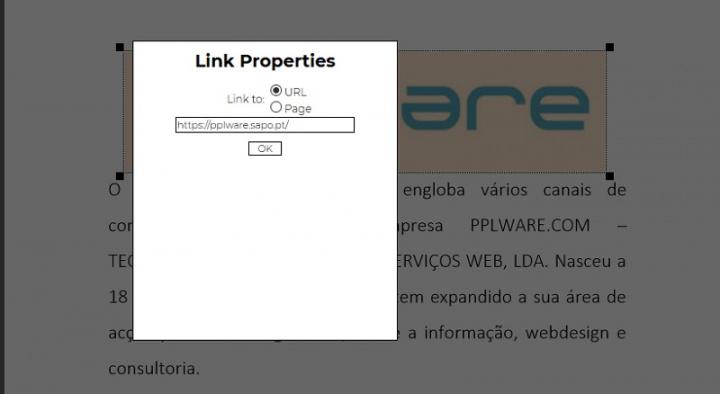 Learn how to place links in a PDF file without installing anything on the PC