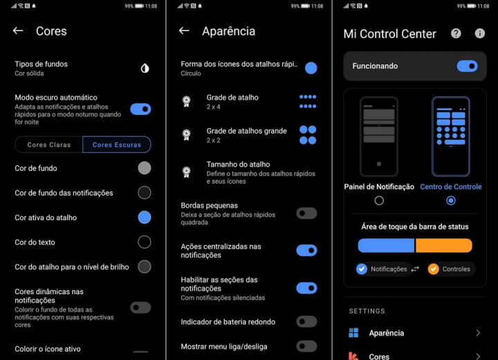 Mi Control Center - Notifications and quick settings on Android like never before ...
