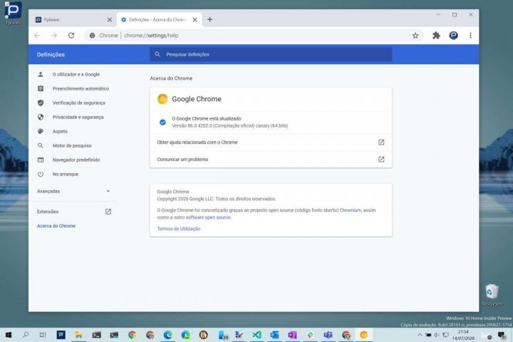 Chrome bateria Google recursos funcionalidade
