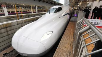 Imagem comboio-bala do Japão