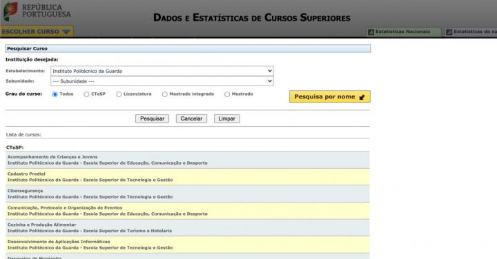 InfoCursos: Já está disponível toda a informação dos cursos superiores
