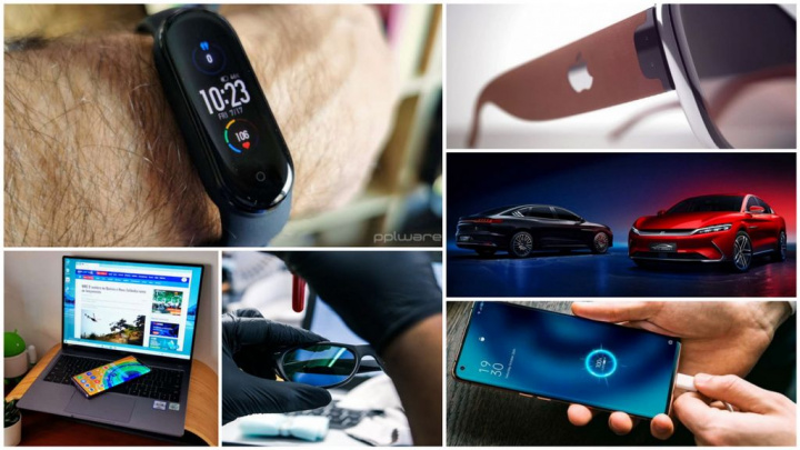 E os destaques tecnológicos da semana que passou foram... - Huawei, OPPO, realme, Xiaomi, Mi Band 5