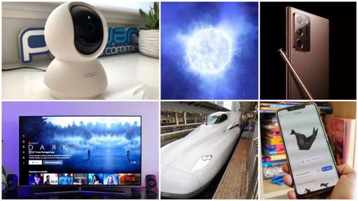 E os destaques tecnológicos da semana que passou foram... - hisense, oled, tp-link, ciência, novidades tecnológicas