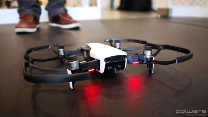 DJI dados utilizadores drones app