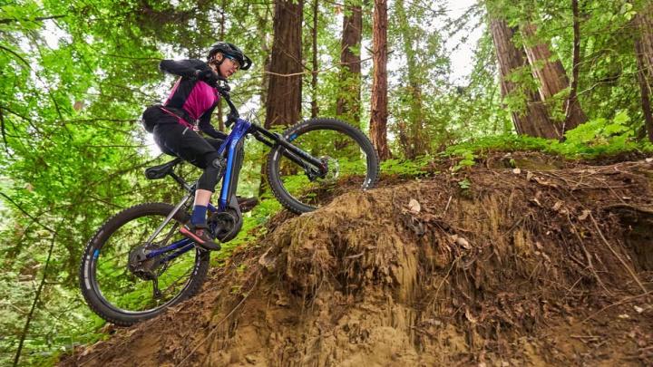 Yamaha unveils new full-suspension mountain e-bike