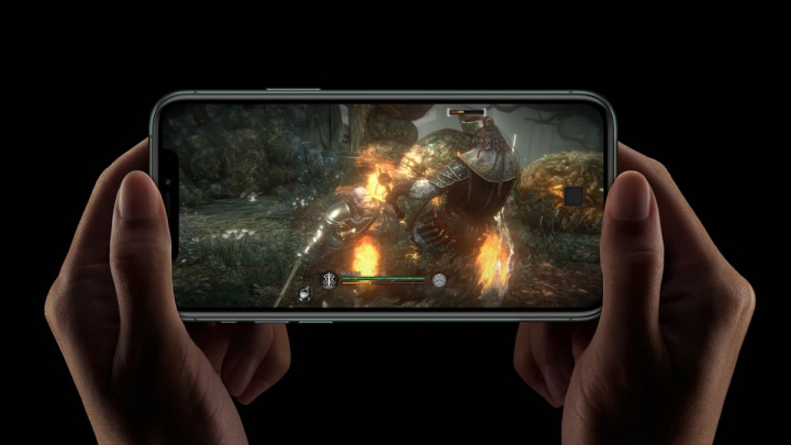 Imagem ecrã OLED iPhone da Apple