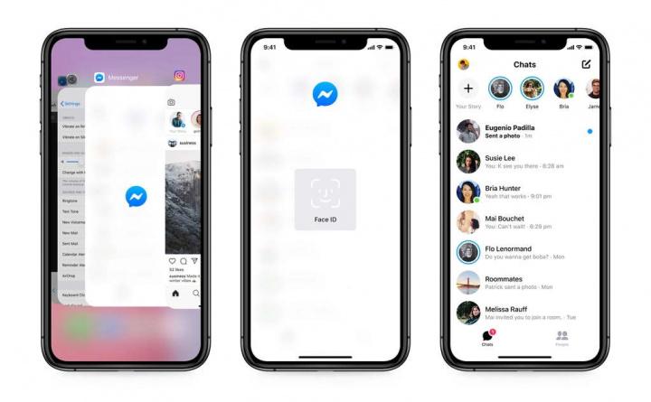 Facebook Messenger iOS segurança dados