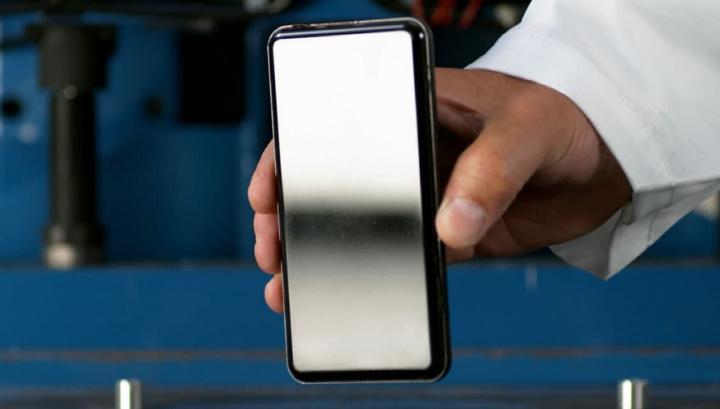 Ilustração de ecrã com vidro Gorilla Glass Victus. Mais resistência para o vidro do smartphone