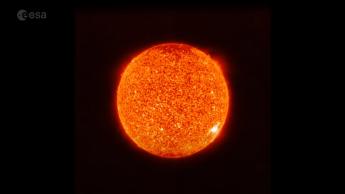 Captura de imagem do Sol.