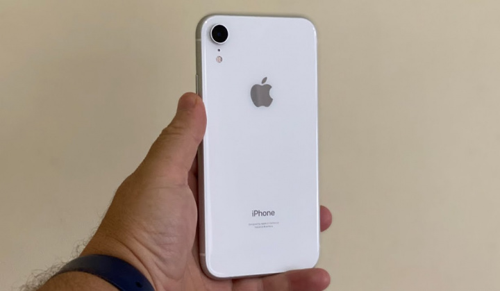 Imagem smartphone Apple branco