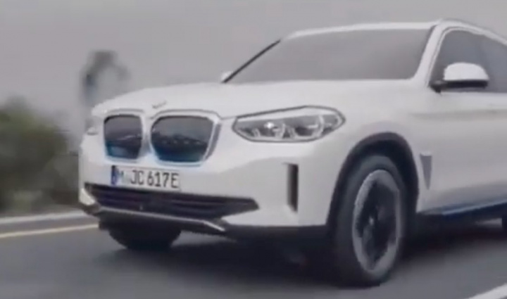 "Video do novo BMW iX3 ""cai"" na Internet! Veja como vai ser..."