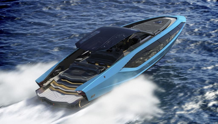Imagem o super iate de luxo Tecnomar for Lamborghini 63
