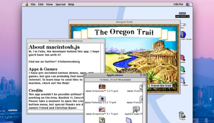 Viagem no tempo! Vamos experimentar o Mac OS 8.1