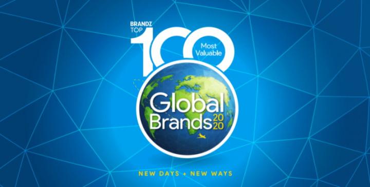 Capa do relatório 2020 BrandZ Global Top 100.