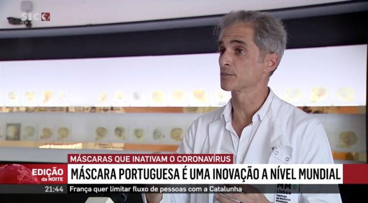 Inovação Mundial: Portugal cria máscara que inativa o coronavírus