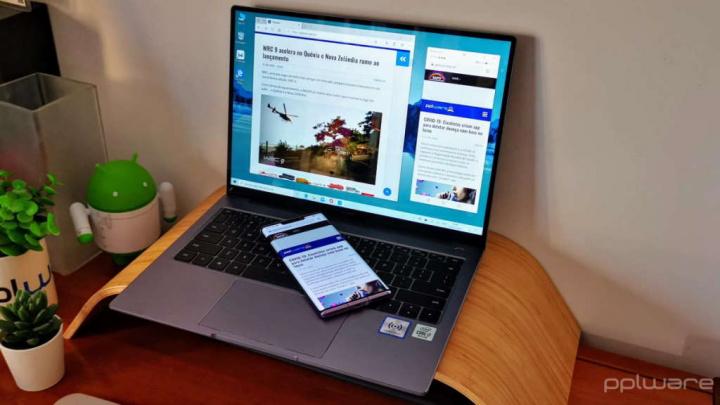 Huawei MateBook 14 portátil produtividade