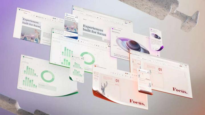 Microsoft 365 Office futuro interface