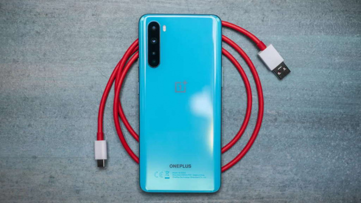 OnePlus Nord smartphone teste chassi